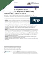 Endogenous IFN-β Signaling Exerts