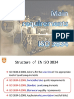 Requirements ISO 3834