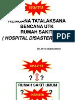 DISASTER - HDP Konsep & Pola Pikir