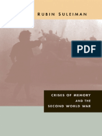 Susan Rubin Suleiman-Crises of Memory and the Second World War (2008).pdf