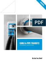 Roxtec Cable and Pipe Transits for Marine Applications En
