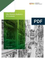 Industry Overview Plastics Industry in Germany En