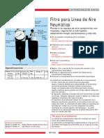 Filtro Para Linea de Aire Neumatica