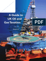 A Guide to UK Oil and Gas Taxation