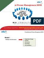 Sesi 1 HRMP - Transformasi Peran Manajemen SDM SYH