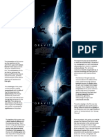 gravity poster analysis