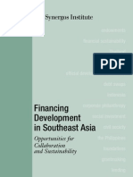 Financing Development in Southeast Asia