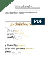 actividades calculadora