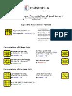 Pll Algorithms(1)