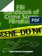 FBI Handbook of Crime Scene For - Federal Bureau of Investigation.epub