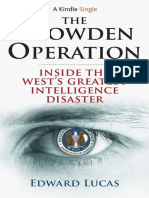 Snowden Operation, The - Edward Lucas