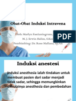 Obat-Obat Anestesi Intravena