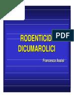 Rodenticidi dicumarolici