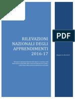 Rapporto Prove INVALSI 2017