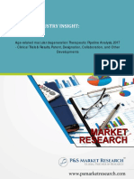Age-related Macular Degeneration Therapeutic Pipeline Analysis, 2017 by P&S Market Research