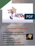 Ppt Presentacion Red Jovenes Provida Peru (Mayo 2016)