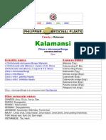 Reverensi Kalamansi