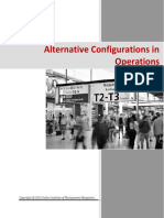Alternative Configurations for Operations