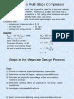 Multistage Compressor Design