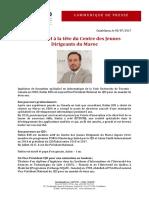 CP - Hatim RIH à La Tête Du CJD Maroc 05072017