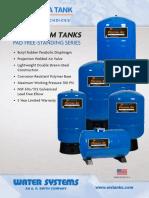 Perma Tank-Butyl Bladder Pressure Tank