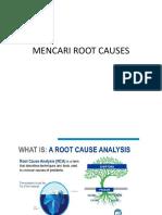Contoh Mencari Root Causes