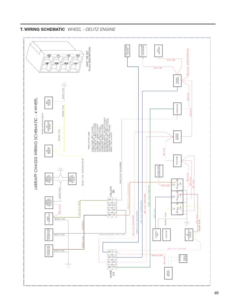 [SCHEMATICS_48IS]  Wheel Wiring Schematic Deutz Engine | Electrical Wiring | Red | Deutz Engine Starter Wiring Diagram Free Picture |  | Scribd