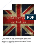 English Customs and Traditions