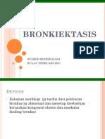 BRONKIEKTASIS RESPI