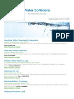 Water Softeners BizHouse.uk