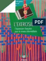 L'Exercisier, l'Expression Française Pour Le Niveau Intermédiaire