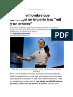 Jack Ma en Argentina