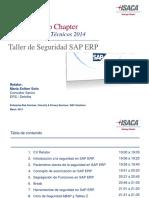Taller de Seguridad SAP ERP - Marzo 2014 Vf