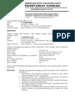 surat penunjukan pemegang kendaraan dinas sekretariat daerah kota palangka raya.doc