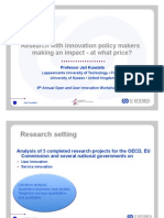 MIT - How research projects can influence policy