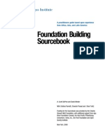 Foundation Building Sourcebook