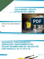 Capacitacion Introduccion Jumbo Hidraulico Atlas Copco