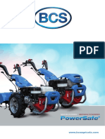 BCS Motocultores Powersafe LATAM 04-2014