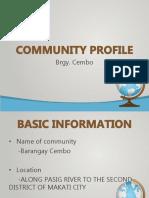Community Profile (1)