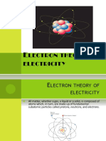 Electron Theory