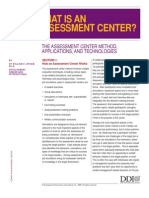 Assessment Center Article