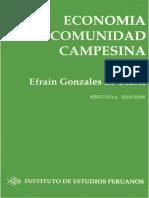 76. Gonzales de Olarte, Efrain - Economía de La Comunidad Campesina