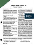 OSHA Graphite Guideline