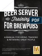Beer Server Training for Brewpubs