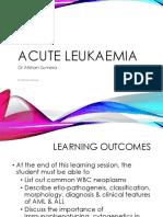 Acute Leukaemia ME114