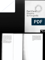 História Da Geografia - Paul Claval