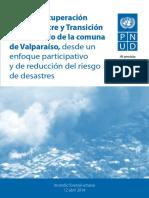 Plan Recuperación Valparaíso Post Incendio (Enero 2015)