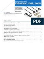 e96e Xs, y92e Cable Connector Datasheet En