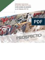Prospecto 2017-2