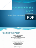 A Narrow Fellow in the Grass' powerpoint
